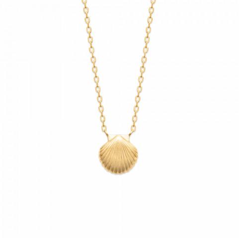 Collier pendentif petit coquillage