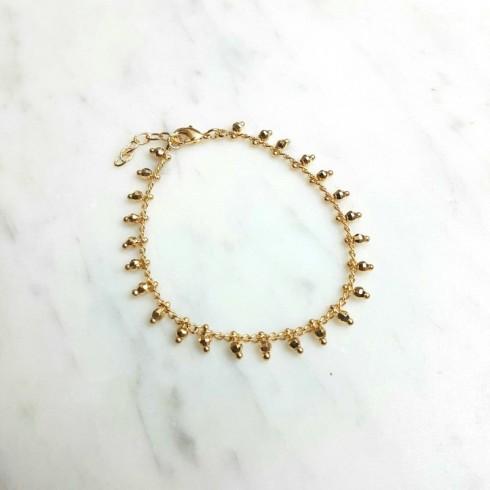 Bracelet Anaïs plaqué or