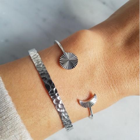Bracelet Jonc femme argent