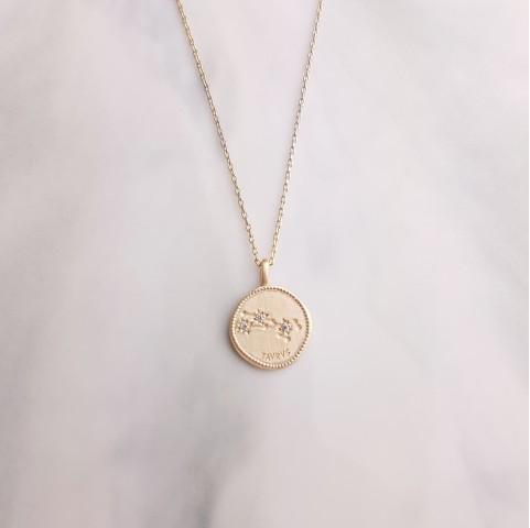 Collier Signe Astrologique Taureau plaqué or