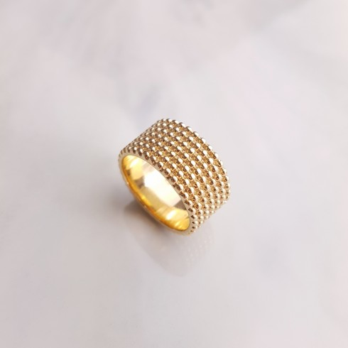 Bague Isaure plaqué or