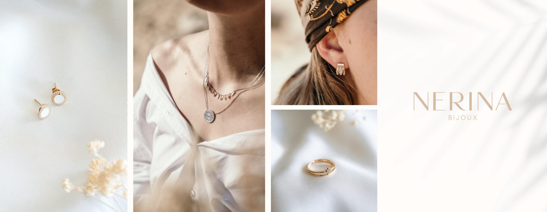Nerina Bijoux : Bijoux fantaisie de qualité plaqué or et argent