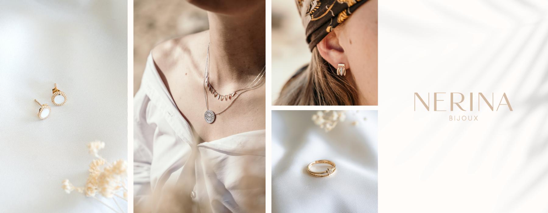 Nerina Bijoux : Bijoux plaqué or et bijoux argent