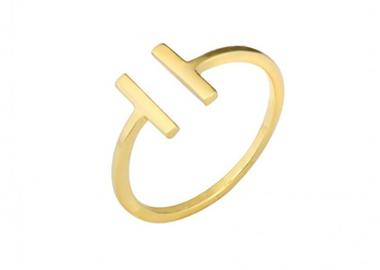 collier-création-corne-lune-plaque-or